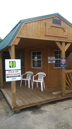 12 x 28 Deluxe Playhouse!!! Cabin! Lake House! Backyard Escape! Tiny Home! for Sale in Oxford, MA