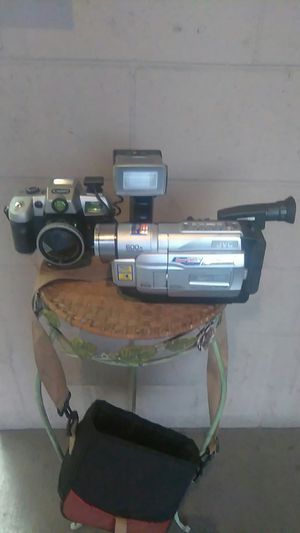 Camcorder and camera for Sale in Ontario, CA