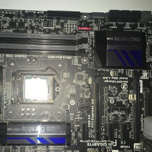 Gigabyte Motherboard With A i5 4670k Processor for Sale in The Bronx, NY