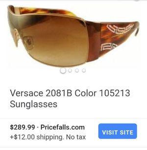 Versace sunglasses and sunglasses case for Sale in Tacoma, WA