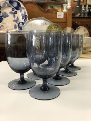 Mid century glasses set of eight for Sale in La Mesa, CA