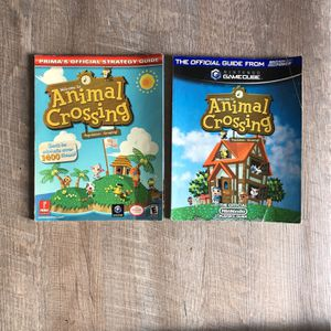 Animal Crossing Official Nintendo Guidebook x2 for Sale in North Tustin, CA