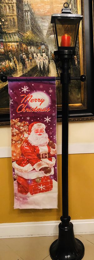 Christmas LED Lamp Post for Sale in Windermere, FL
