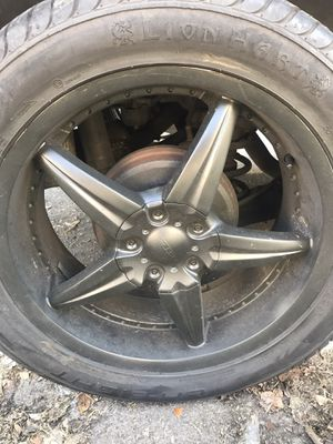 20 inch black rims for Sale in Los Angeles, CA