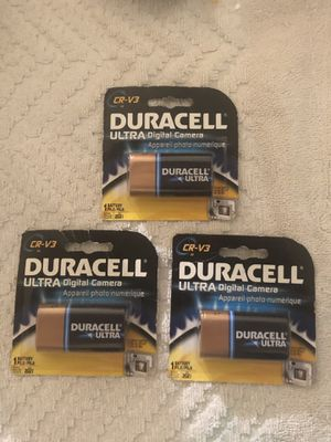 DURACELL ULTRA DIGITAL CAMERA BATTERIES for Sale in Charlotte, NC
