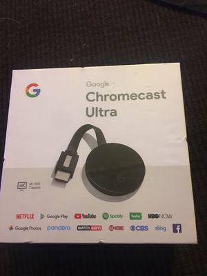 Chromecast ultra for Sale in Tempe, AZ
