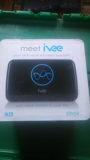 Meet ivee your Wi-Fi voice-activated assistance add voice control to your life for Sale in Gilroy, CA
