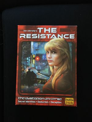 The Resistance board game for Sale in Boston, MA