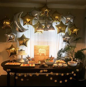 33 mylar balloon party set for Sale in Rogers, AR