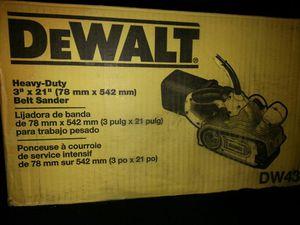 Dewalt belt sander for Sale in Lynn, MA
