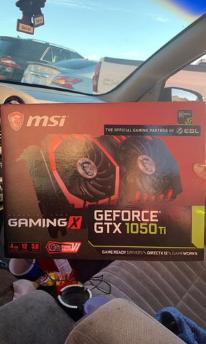 GAMING X GEFORCE GTX 1050 Ti for Sale in Compton, CA