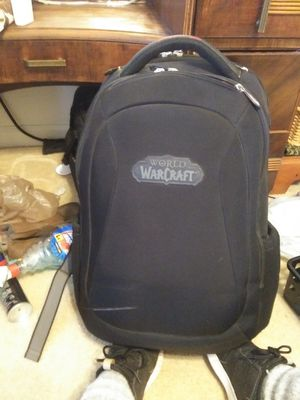 World of Warcraft back pack and ect for Sale in Smyrna, TN