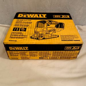NIB Dewalt 20V MAX* Lith-Ion XR® Brushless CORDLESS JIG SAW Model DCS334B for Sale in Davie, FL