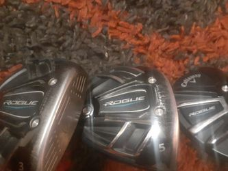 Callaway Rouge Hybrid And Woods. for Sale in Sacramento,  CA