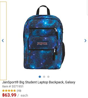 Jansport laptop backpack for Sale in Pasadena, TX