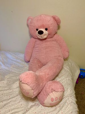 6ft Giant Pink Teddy Bear for Sale in Brighton, CO