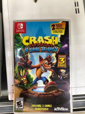 Crash Nintendo Switch for Sale in FL, US