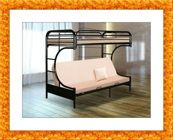 Twin futon bunkbed frame free delivery