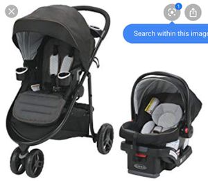 Graco stroller car seat used once have box for Sale in Baytown, TX