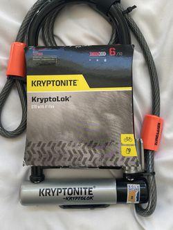 Kryptonite KryptoLok Bike Lock (Heavy Duty) for Sale in Los Angeles,  CA