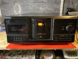 Vintage SONY CDP-CX235 CD Player 200 Multi Disc Storage No remote for Sale in Mount Prospect, IL