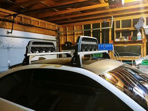 BMW 335i roof rack and snowboard/ski holder for Sale in Cheyenne, WY