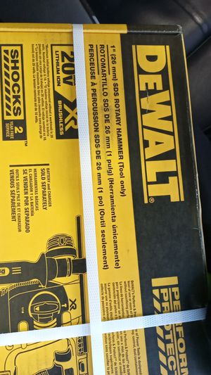 "1"" DeWalt SDS Rotary Hammer for Sale in Gresham, OR"