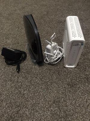 Arris SB6141 modem & Belkin n600 router for Sale in San Clemente, CA