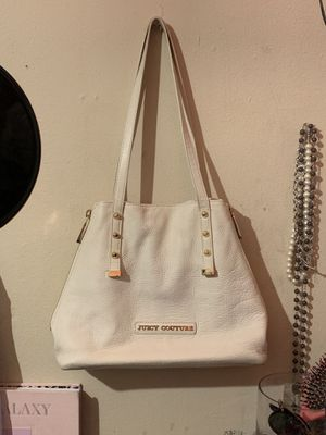 Angel white Juicy Couture Tote Bag - Orange Grove Winged Shoulder Bag for Sale in Austin, TX