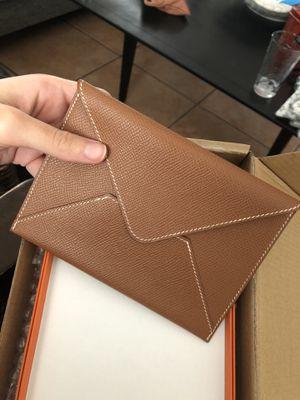 Authentic Hermès passport holder card holder wallet for Sale in Davie, FL