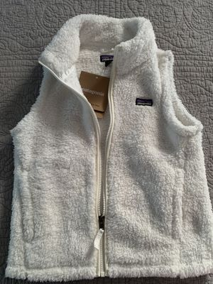 Girls Patagonia Los Gatos Vest - White (M) for Sale in Raleigh, NC