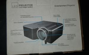 PORTABLE MINI LED PROYECTOR, LOTS OF FUN, PARTY'S, CAMPING, REUNION, BUSINESS, VACATIONS, ADULTS ENJOYING for Sale in San Dimas, CA