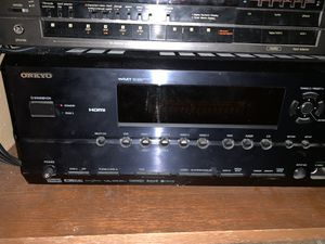 Onkyo 7.1 receiver, JBL center channel and Polk Audio speakers and sub woofer for Sale in Austin, TX