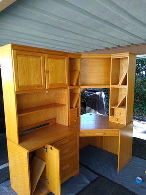 Winners Only brand. Office desk, computer desk oak wood for Sale in Bonita, CA