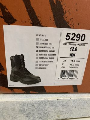 Red wing black boots 5290 for Sale in Gainesville, FL
