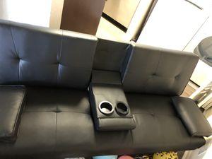 Black futon for Sale in Boca Raton, FL