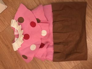 Kids cupcake costume 4T for Sale in Falls Church, VA