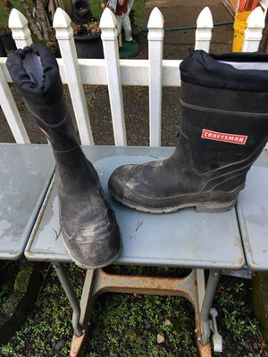 Craftsman rain boots for Sale in Port Orchard, WA