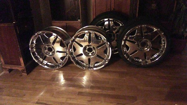 20 inch player rims