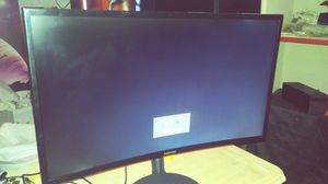27 inch curved Samsung monitor for Sale in Las Vegas, NV