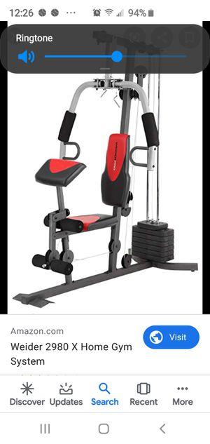 Weider Home Gym for Sale in Port Charlotte, FL