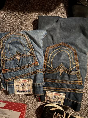 Trues brand new size 30 waist and size 33 wait for Sale in Oroville, CA