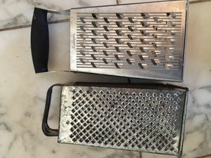 Two cheese graters for Sale in Hinsdale, IL