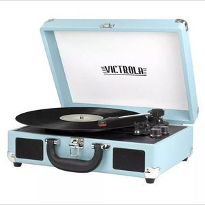 Victorla Turntabe Record Player Turquoise for Sale in Sacramento, CA