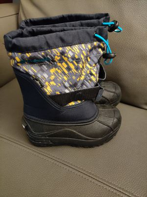 Columbia Snow Boots for kids, size 13. Were worn only once. for Sale in Margate, FL