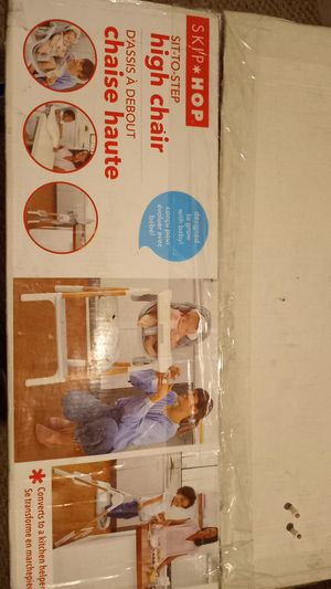 Brand New high chair/foot stool $100 for Sale in Aberdeen, MD