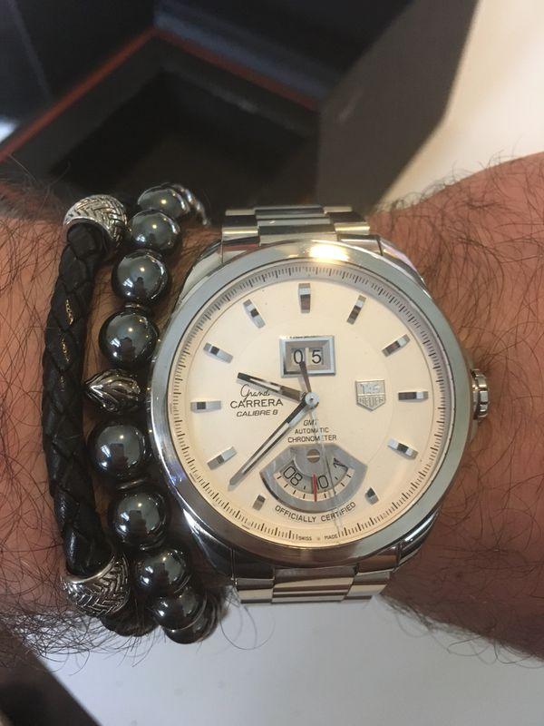 Tag Heuer Grand Carrera GMT Chronometer Watch