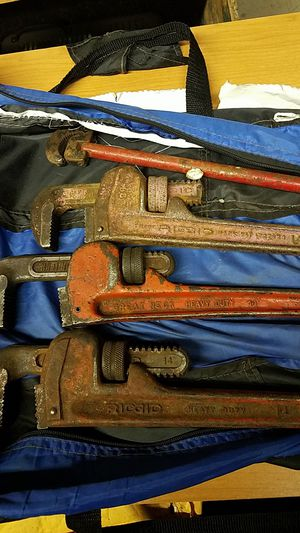 Plumbing wrenches...all as one for Sale in Cottage Grove, OR