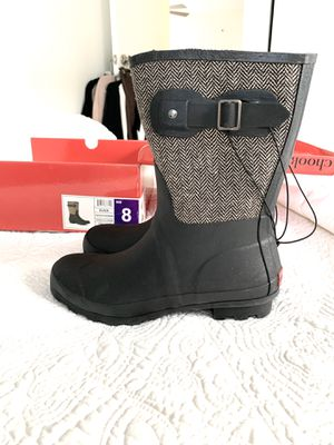 Chooka Rain Boots womens size 8 for Sale in San Clemente, CA