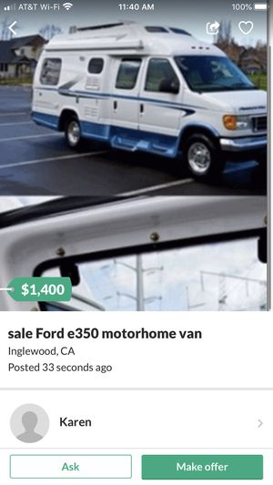 Unintelligent scamming piece of human garbage for Sale in Los Angeles, CA